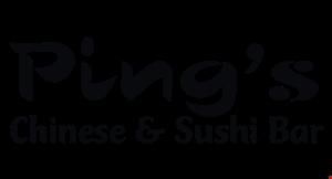 Ping's Chinese & Sushi Bar logo