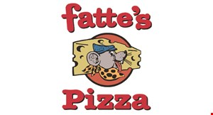 Product image for Fattes Pizza Paso Robles $11.99 + tax Two Small Pizzas With 1 Topping