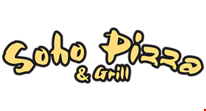 Soho Pizza & Grill logo