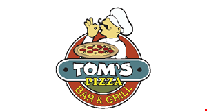 Product image for Tom's Pizza $1 Off regular size steak