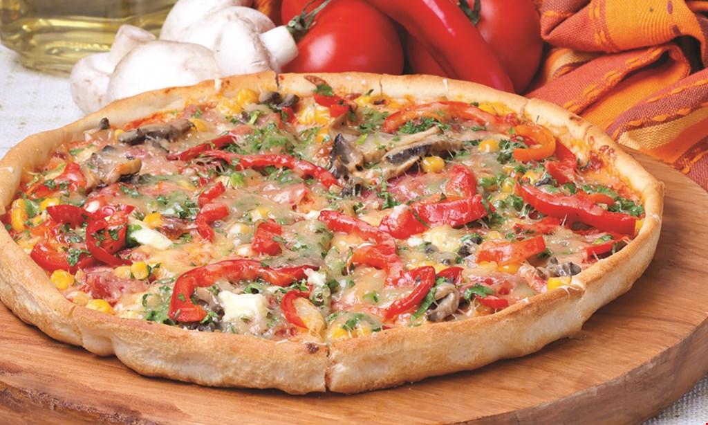 Product image for Tom's Pizza $1 OFF regular size steak