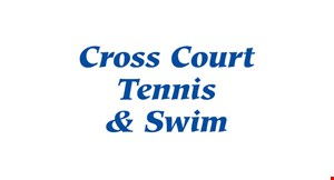Cross Court Tennis & Swim logo