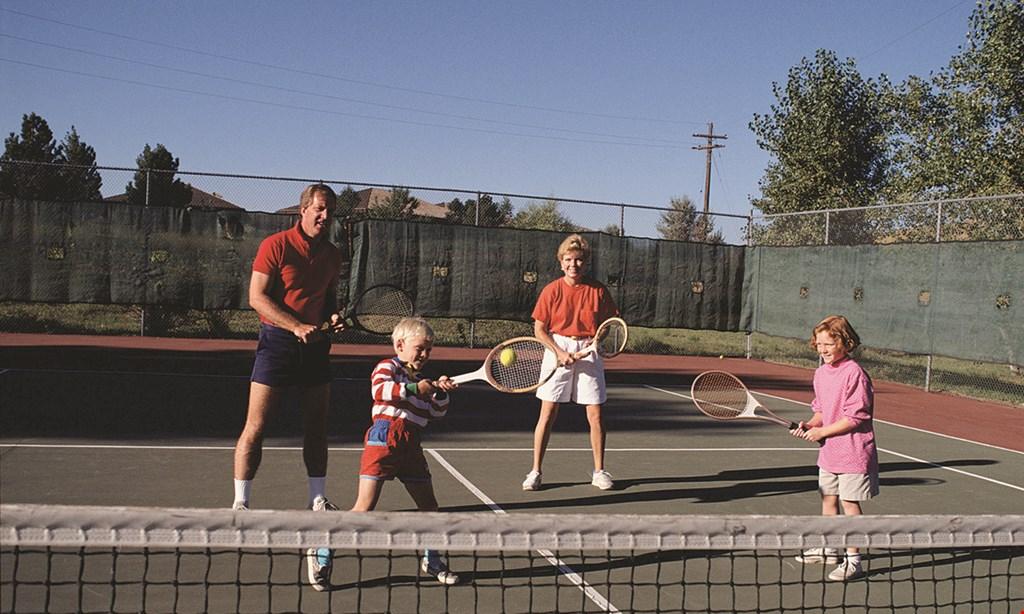 Product image for Cross Court Tennis & Swim $30 per hour winter Tennis