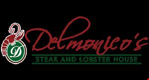 Delmonico's Steak and Lobster House logo