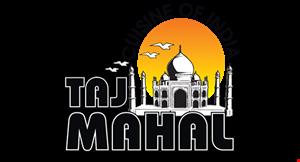 Taj Mahal Cuisine of India logo