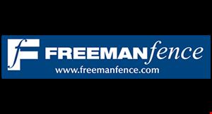 Freeman Fence logo