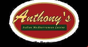 Anthony's Italian Mediterranean Cuisine logo