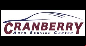 Cranberry Auto Service Center logo