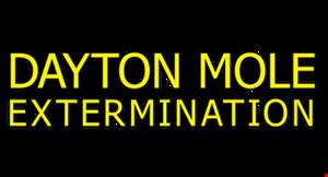Dayton Mole Extermination logo