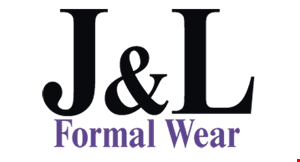 J & L Formal Wear logo
