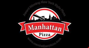 MANHATTAN PIZZA logo