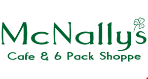 McNally's Cafe & 6-Pack Shoppe logo