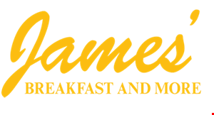 James' Breakfast and More logo