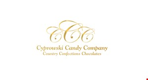 Cyprowski Candy Company: Country Confections Chocolates logo