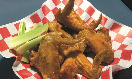 Product image for The Hangar $8 OFF take-out when you spend $40 or more not valid on daily specials or wings