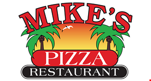 Mike's Pizza and Restaurant logo