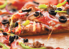 Product image for Mike's Pizza and Restaurant Only $15.99 2 large cheese pizzas