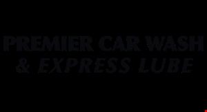 Premier Car Wash & Express Lube logo