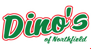 Dino's of Northfield logo