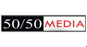 50/50 Media logo
