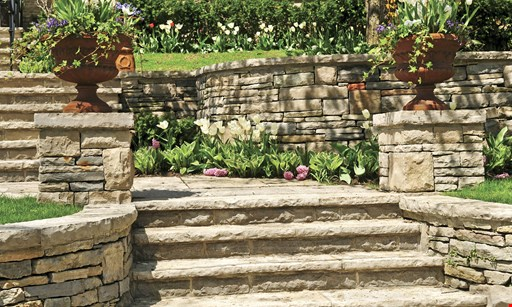 Product image for Georgia Oak Landscaping $200 off retaining wall replacement