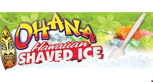 O'hana Hawaiian Shaved Ice logo