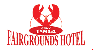 Product image for Fairgrounds Hotel $10 OFF w/ purchase of $100 or more dine in or take out