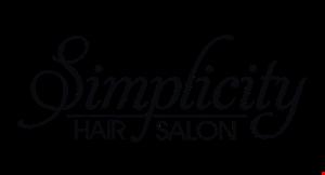 Simplicity Hair Salon logo