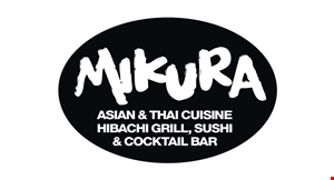 Product image for Mikura $2 OFF amount of check of $20 or more OR $3 OFF amount of check of $30 or more OR $5 OFF amount of check of $40 or more.