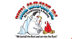 Total Comfort Inc. Air Conditioning & Heating logo
