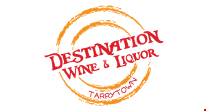 Product image for Destination Wine & Liquor 10% off 3 or more bottle purchase of wine or liquor