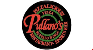 Product image for Pullano's Pizza & Wings 25% OFF Cheese Pizzas Every Monday.