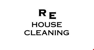 RE House Cleaning logo