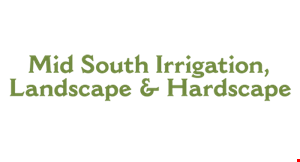 Mid South Irrigation and Landscape logo