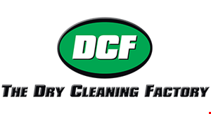 DCF-Dry Cleaning Factory logo
