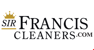 Sir Francis Cleaners logo