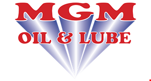 Mgm Oil & Lube logo