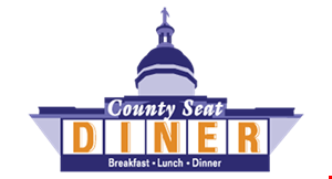 County Seat Diner logo