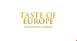 Taste of Europe Ukranian Cuisine logo