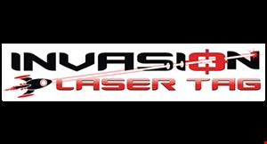 Invasion Laser Tag logo