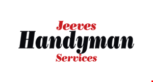 Product image for Jeeves Handyman Services $15 off Any Job
