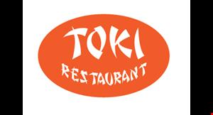 Toki Sushi and Teriyaki logo