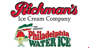 Product image for Richman's Ice Cream Company $1 OFF funnel cake.