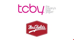 Product image for TCBY / MRS. FIELDS $4.99 banana splits or sundaes.