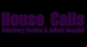 House Calls Veterinary Service logo