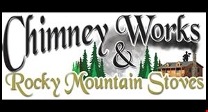 CHIMNEY WORKS & ROCKY MOUNTAIN STOVES logo