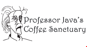 Product image for Professor Java's Coffee Sanctuary $10 For $20 Worth Of Casual Dining