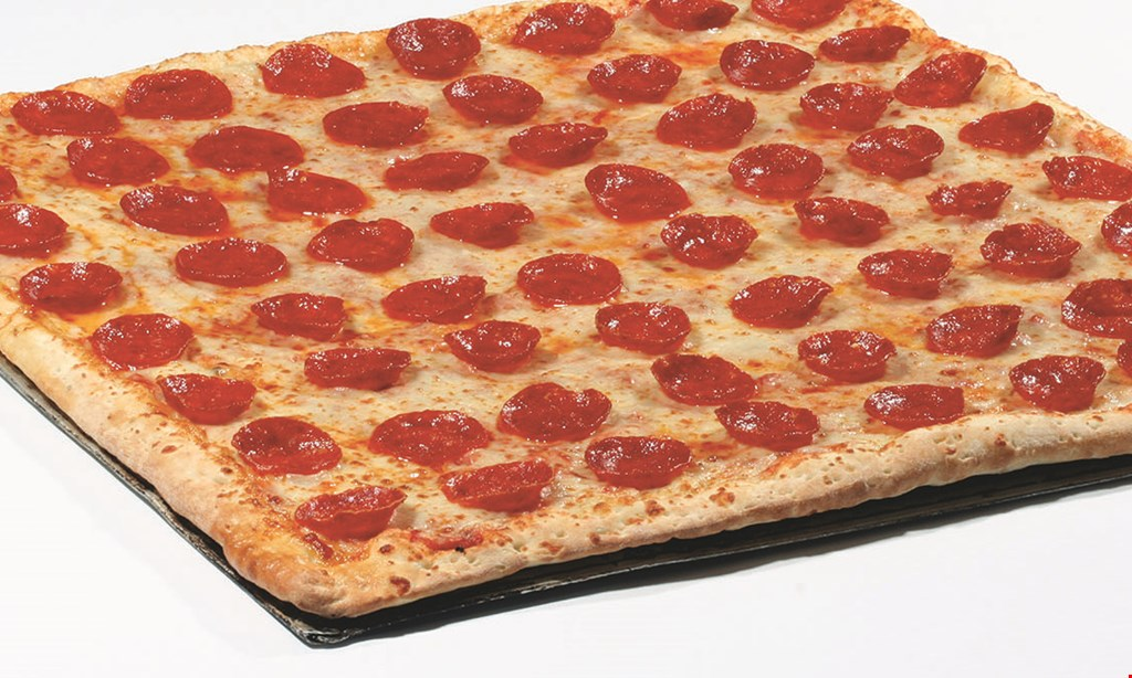 Product image for Jet's Pizza $5.99 - Mon-Wed Special 4 corner pizza® One topping