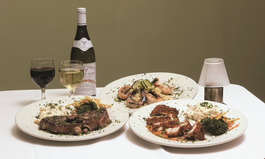 Product image for Jack's American Bistro $25 Prix Fixe Menu 3-Course Meal Soup or Salad, Entree, Dessert.