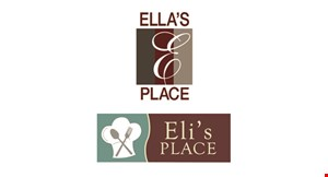 Product image for Eli's Place 1 FREE meal with any reservation of 10 or more.